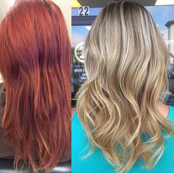 צבעי שיער וגוונים
